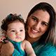 """""""Me deu segurança e inspiração pra tentar, hoje estou encantada com a evolução e interesse da minha bebê pelos alimentos"""""""